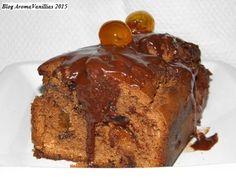 Aroma Vanillias: Κέικ τριπλής σοκολάτας με κουμ κουάτ