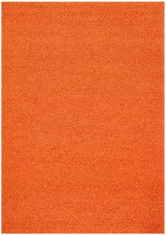 Shaggy Collection Solid Color Shag Area Rug Rugs (Bright Orange, 6'7'x9'6') (4017) *** You can get additional details at the image link. (This is an affiliate link) #HomeDecorTips
