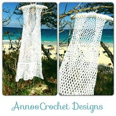 Bermuda Beach Cover up Free Pattern by Annoo Crochet Designs