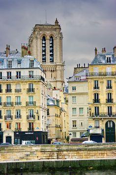 Ile de la Cité, Notre Dame de Paris, Paris IV