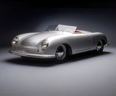 I looked around and could not find quite the car I dreamed of, so I decided to build it myself. A brief history of the Porsche 356