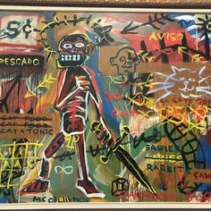 at our upcoming see link in bio for schedule Jean Michel Basquiat, Schedule, Oil On Canvas, Auction, Comic Books, America, Comics, Link, Movie Posters