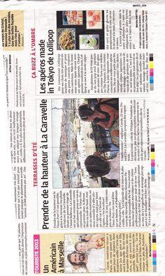 LA PROVENCE août 2013 Bar Restaurant La Caravelle Marseille www.lacaravelle-marseille.com