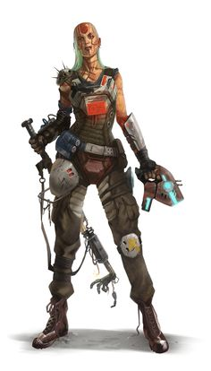 ArtStation - Starfinder - Characters cover, David Alvarez