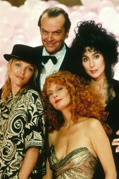 Daryl Van Horne and the Witches of Eastwick. They would be my cousin and his paternal cousins with they grow up. :)