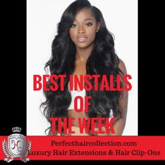 News From Perfect Hair Collection: BEST INSTALL Videos WATCH NOW | Buy 1 Get 1 FREE SALE PLUS Get $20 Insta CASH CODE AVAILABLE | $39.99 Hair Clips - Smith-Etheridge Hair Extensions