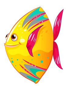 View album on Yandex. Cartoon Sea Animals, Cartoon Fish, Colorful Fish, Tropical Fish, Under The Sea Images, Fish Crafts, Ocean Themes, Fish Art, Beach Art