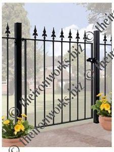 WROUGHT IRON METAL GATE GARDEN GATES 3ft TALL