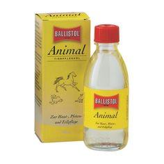 Sanfte Pflege für Fell und Haut: BALLISTOL Animal Tierpflegeöl  - www.romneys.de