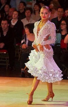 Jurij and Jagoda Batagelj - photo Jure Makovec Ballroom Costumes, Latin Ballroom Dresses, Ballroom Dance Dresses, Ballroom Dancing, Dance Costumes, Latin Dresses, Salsa, Creation Couture, Dance Fashion