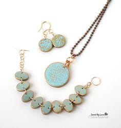 How to Make Silkscreen Polymer Clay Jewelry Tutorials ~ The Beading Gem's Journal