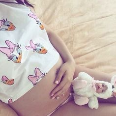 Imagem de pregnant, baby, and girl