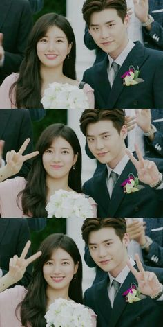 While You Were Sleeping Love this couple Cute Celebrities, Korean Celebrities, Korean Actors, Jong Suk, Lee Jong, Kdrama, Live Action, Kim Book, Sleep Love