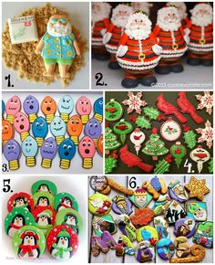 Christmas in July Cookie Collage-A Fun New Tradition Using Your Cookies by thebearfootbaker.com