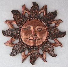Celestial Bronze Sun Plaque