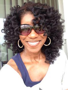 Bantu Knot Out #bantuknots #naturalhair #heatfree #curls