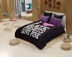 Black Cheetah Print Bedding Sets