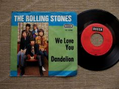 Rolling Stones We Love You / Dandelion 1967 Decca DL 25306 Germany