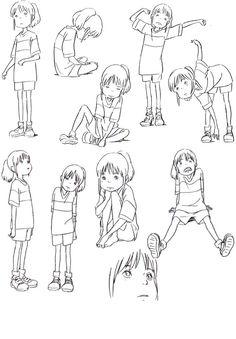 Animation Tidbits — Spirited Away - Chihiro
