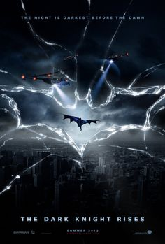 """AMAZING fan-made """"the dark knight rises"""" (2012) movie poster"""
