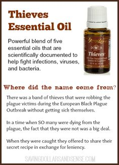 Thieves Essential Oil & more