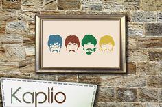 THE BEATLES Cross Stitch Pattern by Kaplio on Etsy, $4.00
