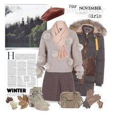 """For November Girls"" by ellie366 ❤ liked on Polyvore featuring Parajumpers, Max&Co., TIBI, rag & bone, Free People, Bliss Studio, Gizelle Renee, Accessorize, fallsweaters and berets"