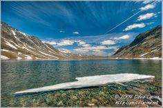 Jotunheimen Norway | Travel Photo Gallery - Ice On Bessvatnet, Jotunheimen, Norway