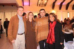 José Antonio Arellano, Mariechen Heldt, Tere Navarro, Juan Pablo Cardemil.  Premiación de la Asociación de Rodeo de Curicó 22 de junio 2013
