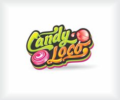 Logo Design by  CryptGraphics for CANDY LOCO FOR CANDIES, LOLLIPOS AND GUM - Design #7710521