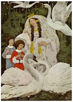 Grimm, Jacob and Wilhelm. Fairy Tales From Grimm. Ethel Franklin Betts, illustrator. London: J. Coker & Co Ltd., 1917.