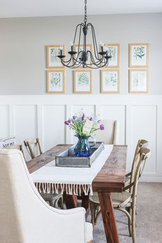 spring decorating ideas for dining room
