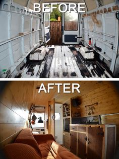 "Mike Hudson chronicles how he built himself an $8,000 home in a van on his blog, Vandog Traveller. ""I have never felt more involved than I have in the past 11 months,"" he says."