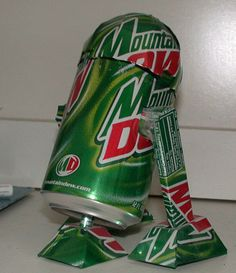 Combines 2 of my favorite things: Star Wars and Mountain Dew!
