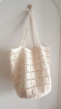 Marvelous Crochet A Shell Stitch Purse Bag Ideas. Wonderful Crochet A Shell Stitch Purse Bag Ideas. Free Crochet Bag, Crochet Market Bag, Crochet Tote, Crochet Handbags, Crochet Purses, Diy Crochet, Crochet Stitches, Crochet Patterns, Bag Patterns