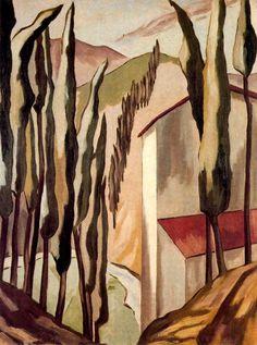"""Alberto Magnelli:  """"Tuscan Landscape"""""""