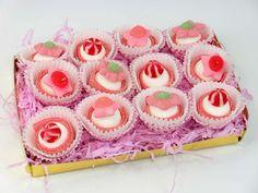 Cup cakes de golosinas