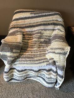 Bernat Home Bundle Blanket That I Just Finished For A