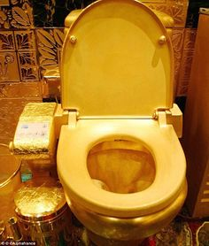 Loo Paper Made Of 22 Carat Gold Goes On For 825k