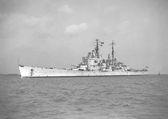 The last British battleship HMS Vanguard, still recognisably a Dreadnought was scrapped in and the type has now disappeared from the world's navies' after a reign of only 40 years. Naval History, Military History, Hms Vanguard, Churchill, Man Of War, Navy Aircraft, Big Guns, Navy Ships, Submarines