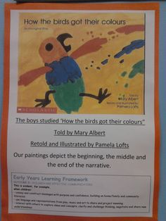 ponderings, possibilities and provocations: How the Birds got their Colours Aboriginal Education, Indigenous Education, Aboriginal Culture, Indigenous Art, Kindergarten Colors, Kindergarten Activities, Naidoc Week Activities, National Sorry Day, Learning Stories Examples