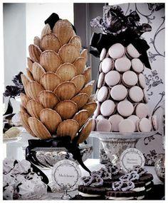 madeleines and macarons christmas tree
