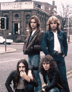 "Status Quo is an English rock band. They have had over 60 chart hits in the UK, starting with 1967's ""Pictures Of Matchstick Men"". They were extremely popular in Europe in the 70s and 80s."