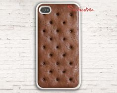 Ice Cream Sandwich - iPhone 4 Case, iphone 4s case $9.99, via Etsy.