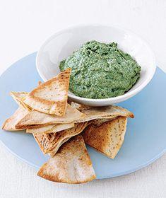 Last-Minute Spinach Dip Dip Recipes, Appetizer Recipes, Spinach Recipes, Vegan Recipes, Appetizer Dips, Yummy Recipes, Free Recipes, Dinner Recipes, Recipes