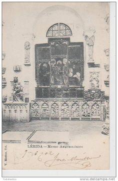 (AKJ65) LERIDA. MUSEO ARQUEOLOGICO ++ SIN DIVIDIR