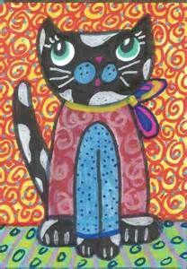 Folk Art Cats - Bing Images