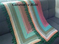 Talk to LiveInternet - Russian Service Online Diaries Crochet Blanket Patterns, Baby Blanket Crochet, Crochet Baby, Free Crochet, Crochet Afghans, Crochet Blankets, Baby Blankets, Caron Yarn, Online Diary