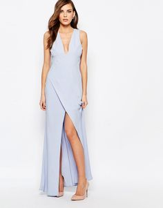 Image 1 ofKeepsake Maxi Dress With Side Split