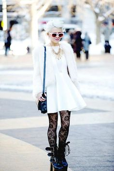 NEW YORK FASHION WEEK WHITE  (by Rachel Lynch) http://lookbook.nu/look/4580331-NEW-YORK-FASHION-WEEK-WHITE